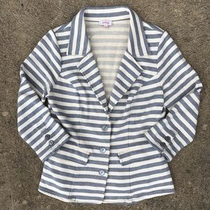 Pixley Stitch Fix Striped Spring Blazer